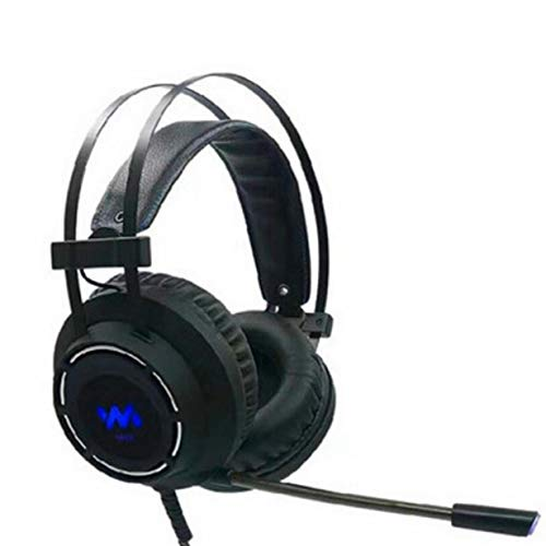Anam Safdar Butt 7.1 Gaming Headset Headphones with Microphone for PC Computer for Xbox One Professional Gamer Surround Sound