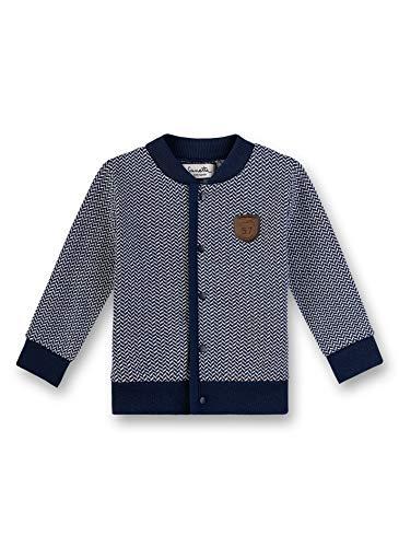 Sanetta Baby-Jungen fiftyseven Sweatjacke, Blau (Deep Blue 5993), 62 (Herstellergröße: 062)