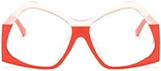 QPRER - Gafas De Sol,X Gafas Clásicas De Dos Tonos De Verano Gafas De Sol UV para Niños De La Calle para Niñas Playa Bonita para Niñas Gafas Protectoras contra El Viento Y El Polvo IR De Compras Gafa