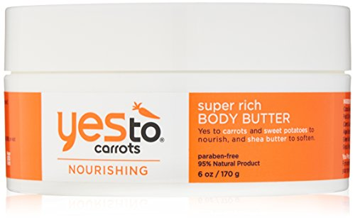 Yes To Carrots Nourishing Super Rich Body Butter, 6 Ounce