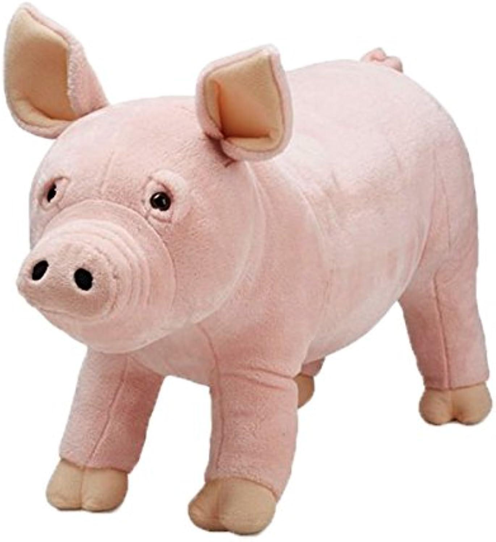 Melissa & Doug Giant Pig  Lifelike Stuffed Animal (Over 0.5 Meters Long)