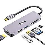 uoeos USB C Hub, Multiport USB C Adapter, 5 in 1 USB C auf HDMI Adapter mit USB 3.0 und...