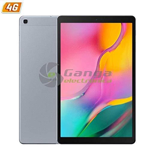 Samsung Tablet Galaxy Tab A T515 (2019) Silver - 10.1'/25.6cm - OC (1.8+1.6GHZ) - 32GB - 2GB RAM - Android - 4G - CAM 8/5MP - MI