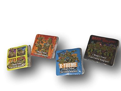 Teenage Mutant Ninja Turtles magia manopla de juego de cuatro