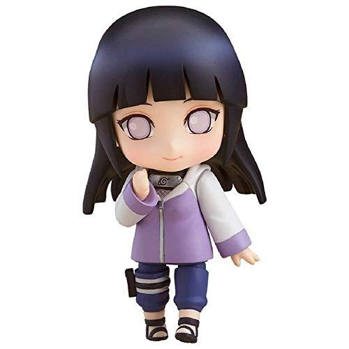 Yangzou 10 Cm De Dibujos Animados Naruto Shippuden Hinata Hyuga PVC Figura...