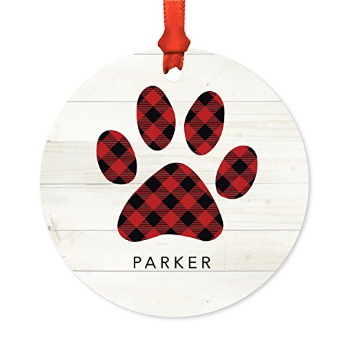 Andaz Press Personalized Dog Ornament