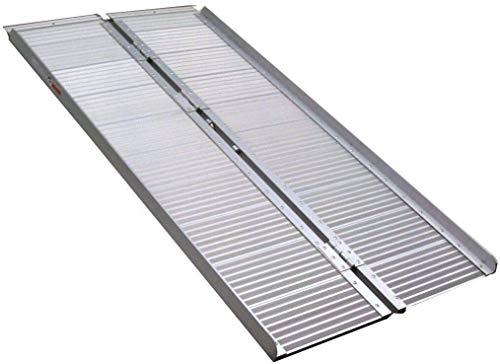 06146 Rampe de chargement pliable en aluminium pour fauteuil roulant 150 cm 1,5 m