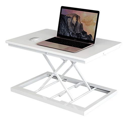 YAALO Standing Desk Converter 37' Stand Up Desk Riser Tafelblad Sit Stand Bureau Past op Dual Monitors Twee Tiered Hoogte Verstelbaar Werkstation Met Verwijdering Toetsenbord Lade