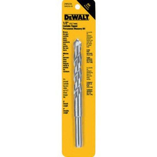 DEWALT DW5234 7/16-Inch by 6-Inch Carbide Hammer Drill Bit,Silver