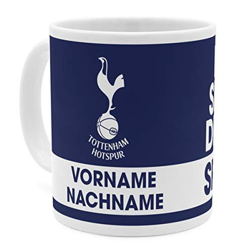 PhotoFancy Tasse Tottenham mit Namen personalisiert - Design Tottenham Hotspur FC Eat Sleep Drink