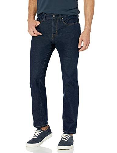 Amazon Essentials Men's Athletic-Fit Stretch Jean, Rinse, 34W x 30L
