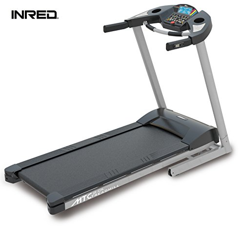 INRED Tapis Roulant MTC 3.0L Nuovo LCD leise MP3USB Pieghevole 1,25PS Cyclette Home