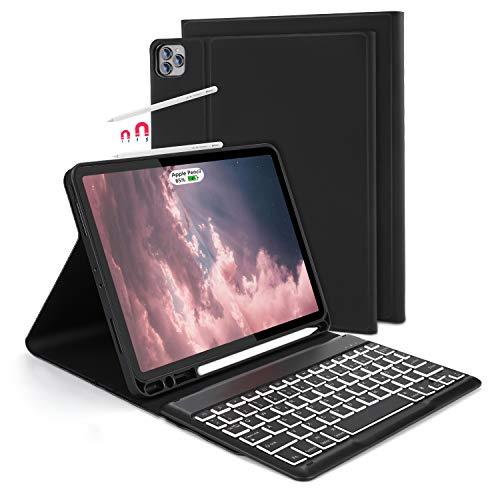 Jelly Comb Beleuchtete Tastatur Hülle für iPad iPad Pro 11