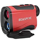 Laser Golf Hunting Rangefinder 1100 Yards 7X, Laser Range Finder Rechargeable with Flag-Lock, Speed, Range, Scan Fast Measurement for Golf Hunting Hiking and Engineering