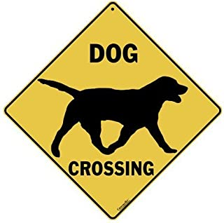 CROSSWALKS Dog Silhouette Crossing 12