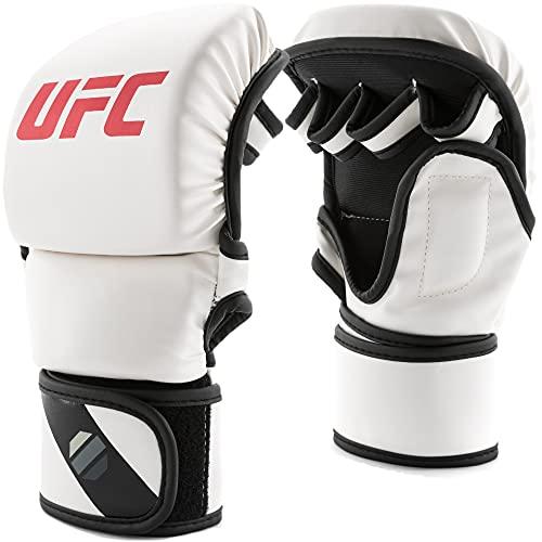 UFC Unisex-Handschuhe Contender Sparing Gloves, 227 g, Weiß, S/M