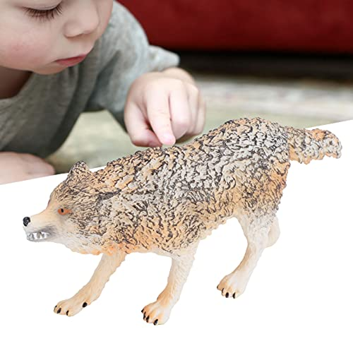 Modelo animal, modelo lobo educacional para acessórios de fotografia para presente de aniversário para a festa de Natal