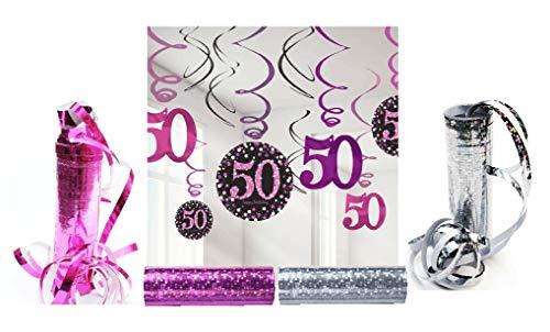 Feste Feiern Geburtstagsdeko 50.