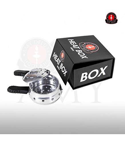 Amy Deluxe Heat Box | Hitze-Management-System | Kopf-Aufsatz für Shisha