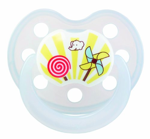 Bebeconfort 30000704 Physio - Pack de 2 chupetes de látex (talla 1), surtido: colores aleatorios