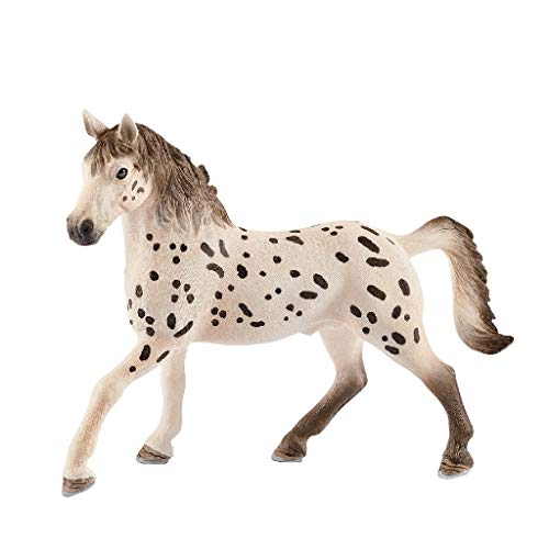 SCHLEICH Horse Club Knapstrupper Stallion Educational Figurine for Kids Ages 5-12