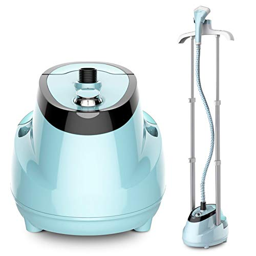 Read About ZQYD Professional Full Size Garment Steamer with 1.6L Transparent Water Tank Drain Design...