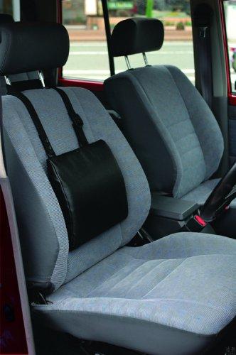テンピュール(R) カバー トランジットランバーサポート用 ストラップ付 ブラック