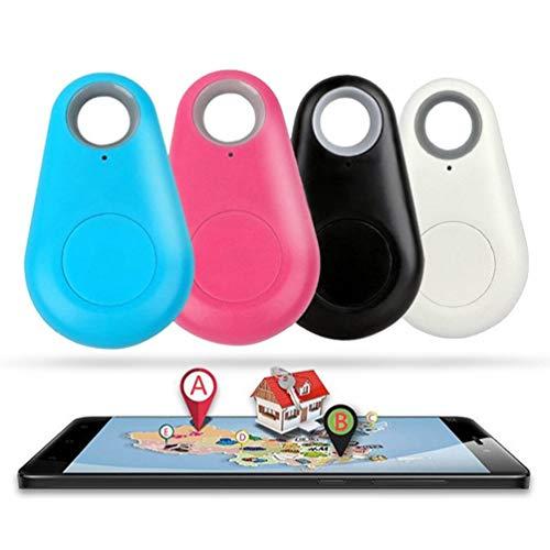 KADDGN Anti perdió el buscador iTag Rastreador de Alarma inalámbrica localizador GPS de posicionamiento Carpeta dominante Mascota sin batería (Color enviado al Azar)