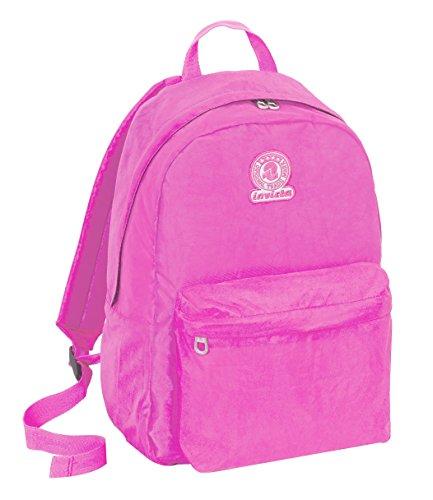 Backpack ROUNDAST - INVICTA - LOGO - Pink 25Lt