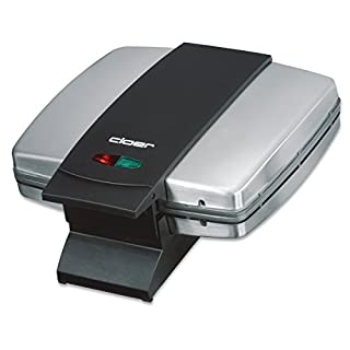 Cloer 6235 Sandwichmaker / 930 W / für 2 ganze Toast / Muschelform / optische Fertigmeldung / Kabelaufwicklung / mattiertes Edelstahlgehäuse (B000FDVDTO) | Amazon price tracker / tracking, Amazon price history charts, Amazon price watches, Amazon price drop alerts