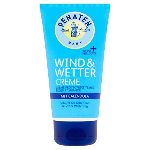 Penaten Kleine Helfer Wind & Wetter Creme 75ml, Reichhaltige Creme mit Calendula für sensible Babyhaut 75ml