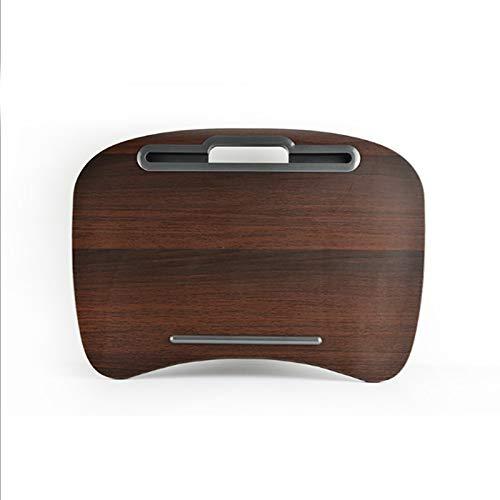 LYLSXY Laptop Table,Multifunction Knee Lap Desk,for Mini Computer Phone Flip Portable Outdoor Headrest Office Home Nap Pillow Computer a/Coffee / 48x34cm