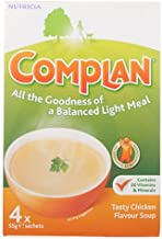 Complan Chicken Flavour Nutritional Drink – 4 x 55g Sachets