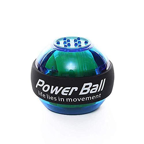 Powerball-Handgelenk-Kugel Männlich-Griff-Kugel-Trainer Beruf Selbst Startet Super-Gyro Stärkung Und Rehabilitation Gyroskope,Blau