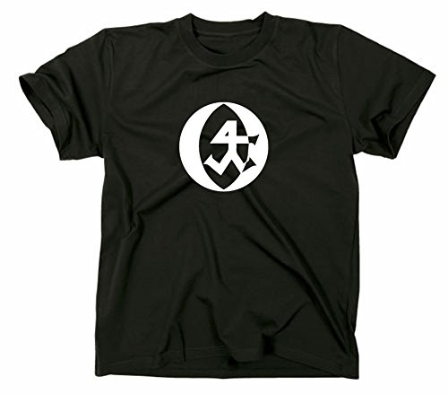 Steinmetz Handwerk Zunft Logo T-Shirt, XL, schwarz