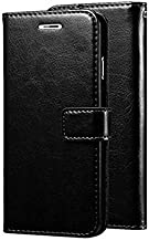 Trounce™ Pu Leather Flip Cover with Stand/Wallet/Card Holder (Black) for Sony Xperia M