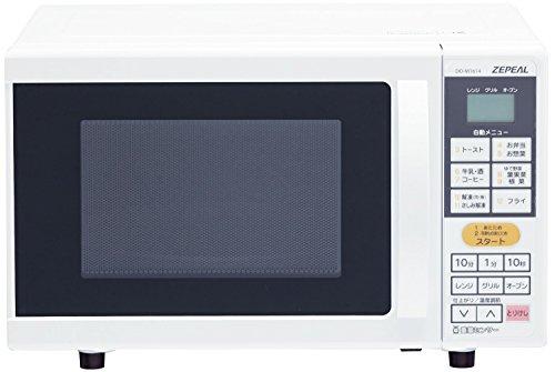 ZEPEAL オーブンレンジ 【重量センサー&温度センサー搭載】 庫内容量16L DO-M1614