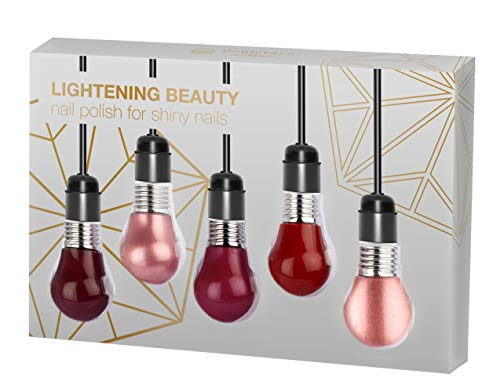 (En) lightening Beauty for Nails - das Nagellack Set von Boulevard de Beauté mit 5 trendigen Farben...