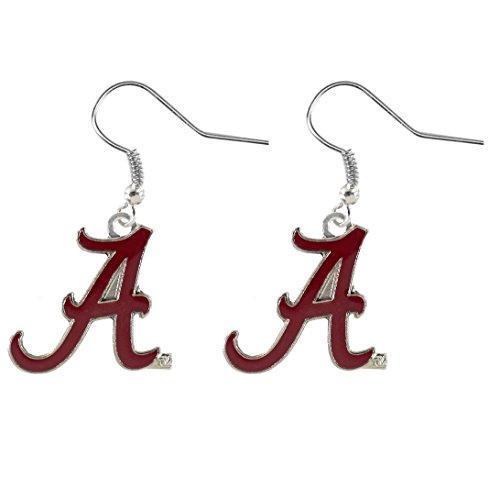 NCAA Alabama Crimson Tide Dangler Earrings