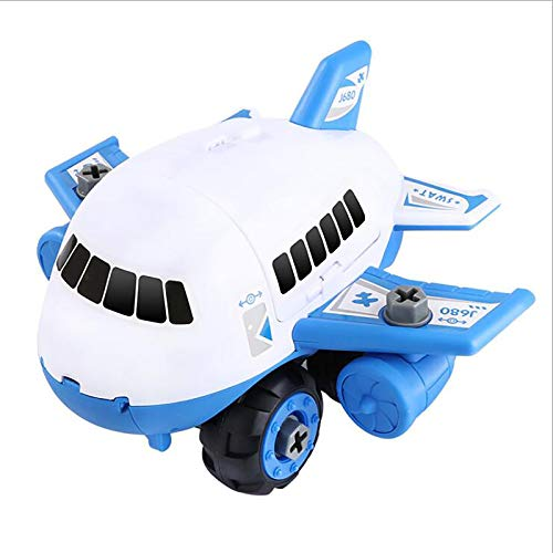 Janly Clearance Sale Education Toys, Airplane Car Toys Set Transport Cargo Airplane With Fire truck Vehicles DIY Gift, Toys and Hobbies for Kid's Gift (B)