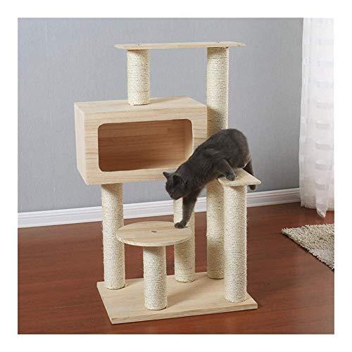 TXOZ-Q Cat Climbing lettiera del gatto Shelf Luxury Cat Jumping Cat Scratching Colonna Sisal Albero Gatto Grande Tree Climbing Cat Struttura for arrampicarsi Gioco for animali domestici Camera del gio