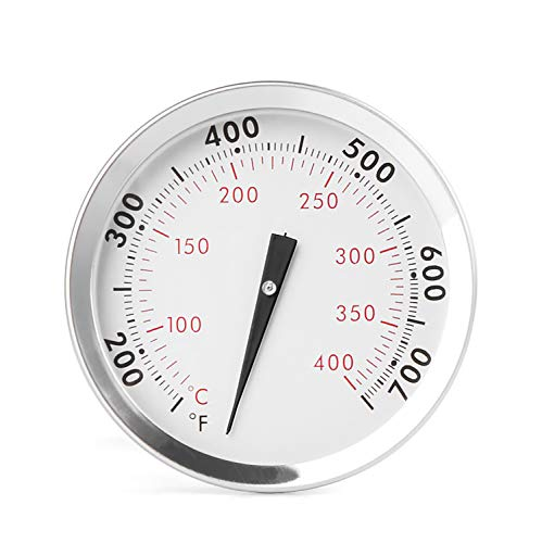 """GASPRO Accurate Thermometer for Weber Genesis 300 Grills (2007-2016) and Summit (2005-2016), 2-3/8"""" Diameter, Durable Replacement for Weber 67088, Install Easily"""