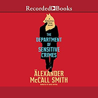The Department of Sensitive Crimes audiobook cover art