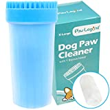Upgrade 2 in1 Dog Paw Cleaner & Pet Grooming Brush - Portable Pet Paw...