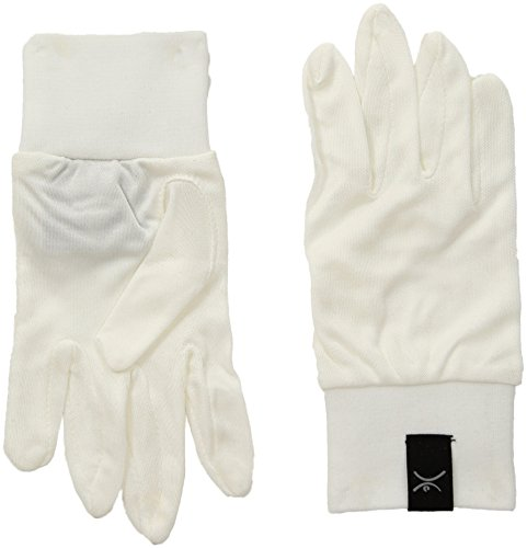 Terramar Adult Thermasilk Ultra-Thin Performance Liner Gloves, Natural, Small (6.5-7)