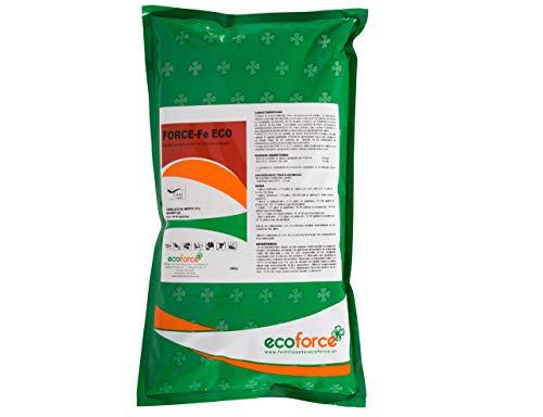 CULTIVERS Quelato de Hierro Fertilizante Ecológico de 1 Kg. Reverdeciente anticlorosis. Nutriente Fundamental para Las Plantas (6% Fe-EDDHA orto orto 4,8 % ). Force Fe
