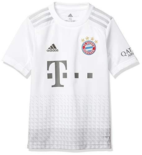 adidas Kinder T-Shirt FCB A JSY Y, Blanco, 152, DX9264