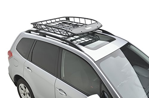 Subaru SOA567C010 Heavy Duty Roof Cargo Basket (Thule), 1 Pack