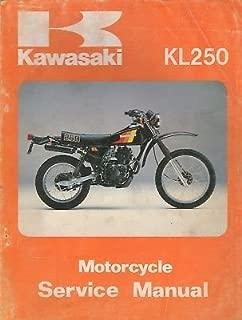 1980-1983 KAWASAKI MOTORCYCLE KL250 SERVICE MANUAL 99924-1024-03 (549)