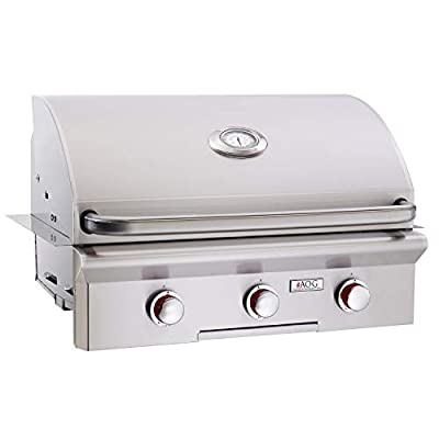 AOG American Outdoor Grill 30PBT-00SP T-Series 30 inch Built-in Propane Gas Grill